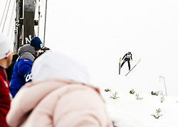 February 8, 2019 - Lahti, Finland - Samuel Costa competes during Nordic Combined, PCR/Qualification at Lahti Ski Games in Lahti, Finland on 8 February 2019. (Credit Image: © Antti Yrjonen/NurPhoto via ZUMA Press)