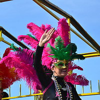 Pensacola Beach -Mardi Gras Parade-2015