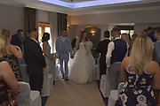Mr Brad & Mrs Shannon Ramsden, wedding at the Solent Hotel on 21.9.2019