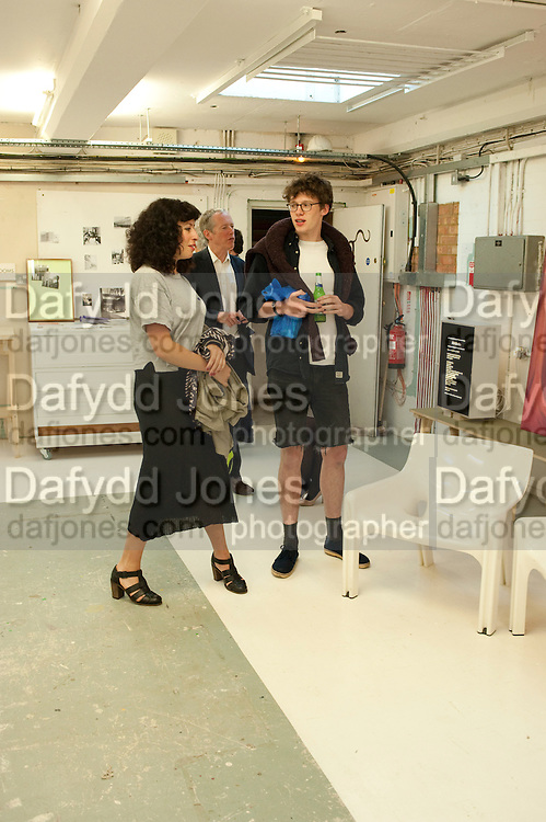 NEW STUDIO SPACE, Pablo Bronstein, Sketches for Regency Living. Private view. ICA. The Mall. London. 8 June 2011. <br /> <br />  , -DO NOT ARCHIVE-© Copyright Photograph by Dafydd Jones. 248 Clapham Rd. London SW9 0PZ. Tel 0207 820 0771. www.dafjones.com.