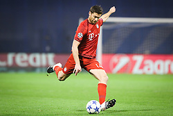 Xabi Alonso #14 of FC Bayern Munchen during football match between GNK Dinamo Zagreb and Bayern München in Group F of Group Stage of UEFA Champions League 2015/16, on December 9, 2015 in Stadium Maksimir, Zagreb, Croatia. Photo by Ziga Zupan / Sportida