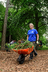 Pictured is Tracey Hewson<br /> <br /> Lincolnshire Co-op colleagues and volunteers from the local community have been helping look after the Hartsholme area of Lincoln by taking part in the ongoing Big Co-op Clean.<br /> <br /> Picture: Chris Vaughan Photography for Lincolnshire Co-op<br /> Date: June 4, 2019