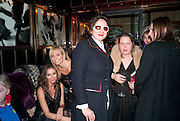 SASHA VOLKOVA; MARGARITA WENNBERG; SELINA BLOW; LAVINIA VERNEY, , Lauren Goldstein Crowe hosts reception to thank those that particitated in the research for her book: Isabella, A Life in Fashion. The Fumoir. Claridge's. London. 8 November 2010. -DO NOT ARCHIVE-© Copyright Photograph by Dafydd Jones. 248 Clapham Rd. London SW9 0PZ. Tel 0207 820 0771. www.dafjones.com.