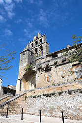 Lady of Bethlehem Church dates from the 12th century and is noted for its very old clock tower.  A crossroads town between the Languedoc and the Rhome Valley in Provence, today's Remoulins surrounds a medieval core.