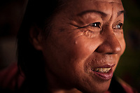 A portrait of Namwan, a 63-year-old ladyboy in Phrae, Thailand. Phrae is a small rural town in northern Thailand, far away from the nation's bigger cities.