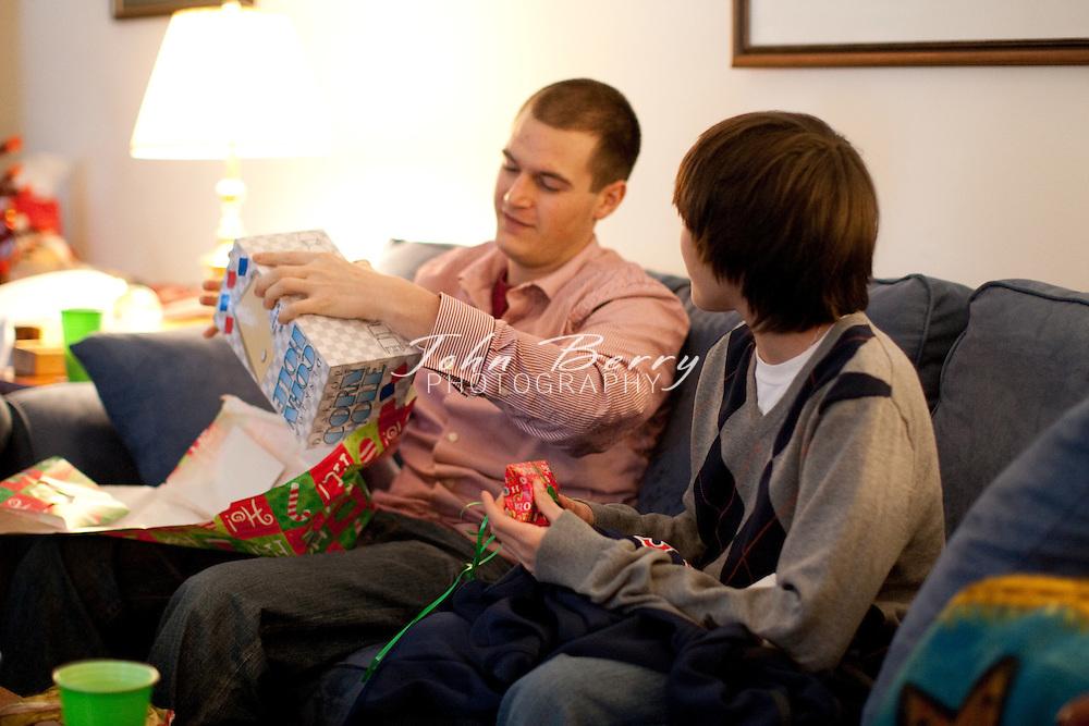 Christmas at Jayne and Barry's 2009 .12/25/09