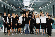 The New Zealand Swimming team at the 2006 New Zealand Youth and Open Swimming Championships at QEII Leisure Centre, Christchurch on Friday 14 April 2006. Photo: Simon Fergusson/PHOTOSPORT