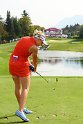 Ryann O'Toole (Usa) competes during the final round of LPGA Evian Championship 2018, Day 7, at Evian Resort Golf Club, in Evian-Les-Bains, France, on September 16, 2018, Photo Philippe Millereau / KMSP / ProSportsImages / DPPI