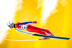 12.01.2018, Kulm, Bad Mitterndorf, AUT, FIS Skiflug Weltcup, Training, im Bild Anders Fannemel (NOR) // Anders Fannemel of Norway during his Practice Jump of FIS Ski Flying World Cup at the Kulm, Bad Mitterndorf, Austria on 2018/01/12, EXPA Pictures © 2018, PhotoCredit: EXPA/ Dominik Angerer