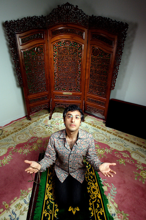 "Reza Aslan, a religious scholar and author of ""No God But God: The Origin, and Future of Islam"" and ""Zealot: The Life and Times of Jesus of Nazareth"". For more images, please use the Search menu for Reza Aslan."