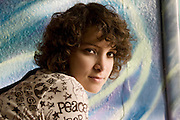 Gaby Moreno at Tsunami Coffeshop in Los Angeles, CA.