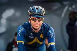Rider of Aqua Blue Sport before the UCI WorldTour 103rd Liège-Bastogne-Liège from Liège to Ans with 258 km of racing at Liège (258 km to go), Belgium, 23 April 2017. Photo by Pim Nijland / PelotonPhotos.com | All photos usage must carry mandatory copyright credit (Peloton Photos | Pim Nijland)