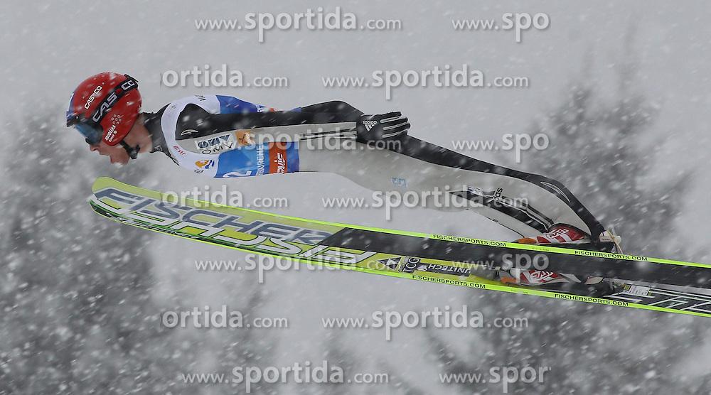31.12.2011, Olympia Skisprungschanze, Garmisch Partenkirchen, GER, 60. Vierschanzentournee, FIS Ski Sprung Weltcup, Training, im Bild Roman KOUDELKA (CZE) // Roman KOUDELKA (CZE) during a practice session of 60th Four-Hills-Tournament FIS World Cup Ski Jumping at Olympia Skisprungschanze, Garmisch Partenkirchen, Germany on 2011/12/31. EXPA Pictures © 2011, PhotoCredit: EXPA/ Sven Kiesewetter