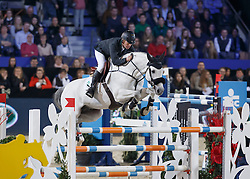 Bengtsson Rolf Goran, (SWE), Clarimo ASK <br /> Longines FEI World Cup presented by Landrover<br /> Vlaanderen Kerstjumping - Memorial Eric Wauters - <br /> Mechelen 2015<br /> © Hippo Foto - Dirk Caremans<br /> 30/12/15
