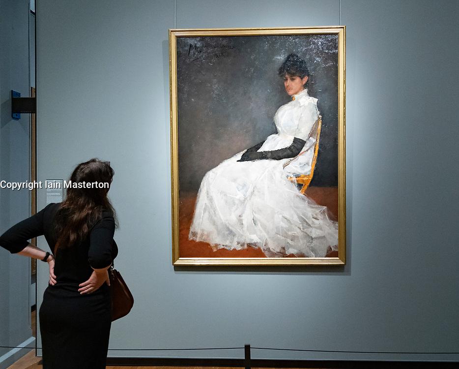 Portrait of Jenny Kamerlingh Onnes, Menso Kamerlingh Onnes, 1888
