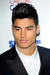 Capital Summertime Ball<br /> Siva Kaneswaran (The Wanted) during photocall ahead of performing at the Capital Summertime Ball, Wembley Stadium,<br /> London, United Kingdom<br /> Sunday, 9th June 2013<br /> Picture by Chris  Joseph / i-Images