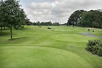 STAFFAN (Ierland) - K CLUB bij Dublin, de golfbaan waar in 2006 de Ryder Cub wordt gespeeld. Hole 18