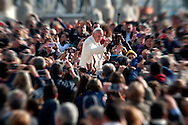 Vatican City, nov 11, 2015, wednesday weekly general audience. In the picture pope Francis © PIERPAOLO SCAVUZZO