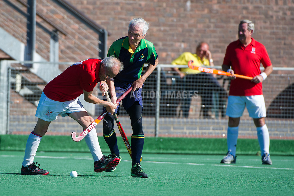 Euro Master Hockey Championships, Trent Park, Southgate, London, UK on 28 August 2015. Photo: Simon Parker