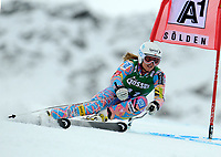ALPINE SKIING - WORLD CUP 2012/2013 - SOELDEN (AUT) - 27/10/2012 - PHOTO  GIOVANNI AULETTA / PENTAPHOTO / DPPI - WOMEN GIANT SLALOM - Julia Mancuso (USA)