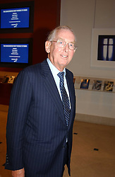 LORD SAINSBURY OF PRESTON CANDOVER at a fundraising evening for the Conservative Party General Election Campaign Fund held at Bonhams, 101 New Bond Street, London W1 on 17th March 2005.<br />