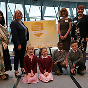 """City Hall, London, Uk, 29th June 2017. Yeading Infant and Nursery School, Bishop Winnington Church of England School Hillingdon """"Sliver and Gold Awards"""" of the City Hall awards at the Health and education experts celebrate London's healthiest schools."""