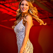Evening Gown portion for the Miss division at  the 2018 Miss El Paso America Beauty Pageant, El Paso Texas March 3, 2018 , Andres Acosta / El Paso Herald-Post