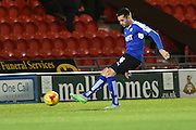Sam Hird of Chesterfield FC during the Sky Bet League 1 match between Doncaster Rovers and Chesterfield at the Keepmoat Stadium, Doncaster, England on 24 November 2015. Photo by Ian Lyall.