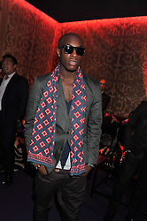 TALAY RILEY at a party hosted by Roberto Cavalli to celebrate his new Boutique's opening at 22 Sloane Street, London followed by a party at Battersea Power Station, London SW8 on 17th September 2011.