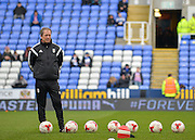 Fulham assistant manager Stuart Gray during the Sky Bet Championship match between Reading and Fulham at the Madejski Stadium, Reading, England on 5 March 2016. Photo by Adam Rivers.