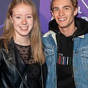 NLD/Amsterdam/20190613 - Inloop uitreiking De Beste Social Awards 2019, .......... en Quinten Verschuren