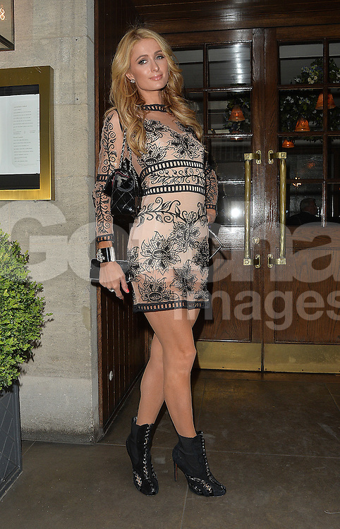 Paris Hilton out and about in London, UK. 27/04/2016<br />BYLINE MUST READ : GOTCHAIMAGES.COM<br /><br />Copyright by &copy; Gotcha Images Ltd. All rights reserved.<br />Usage of this image is conditional upon the acceptance <br />of Gotcha Images Ltd, terms and conditions available at<br />www.gotchaimages.com