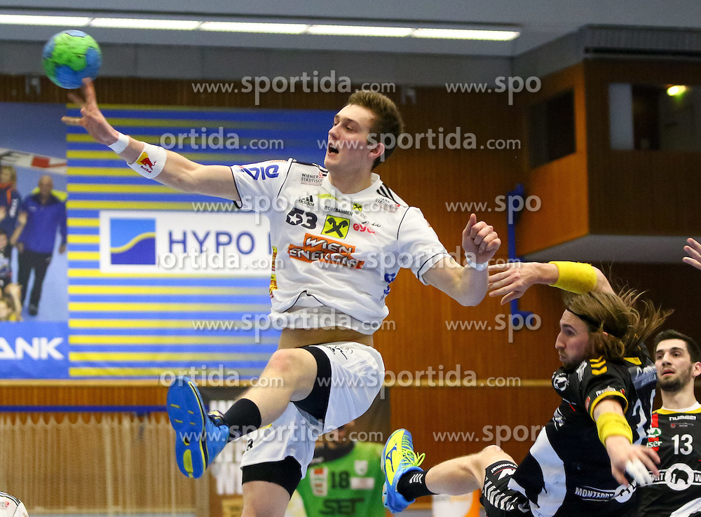 28.03.2015, BSFZ Suedstadt, Maria Enzersdorf, AUT, ÖHB Cup, Finale Männer, Bregenz Handball vs HC Fivers WAT Margareten, im Bild Nikola Bilyk (Fivers)// during the ÖHB Cup men's finale Match between Bregenz Handball and HC Fivers WAT Margareten at the BSFZ Suedstadt, Maria Enzersdorf, Austria on 2015/03/28, EXPA Pictures © 2015, PhotoCredit: EXPA/ Sebastian Pucher