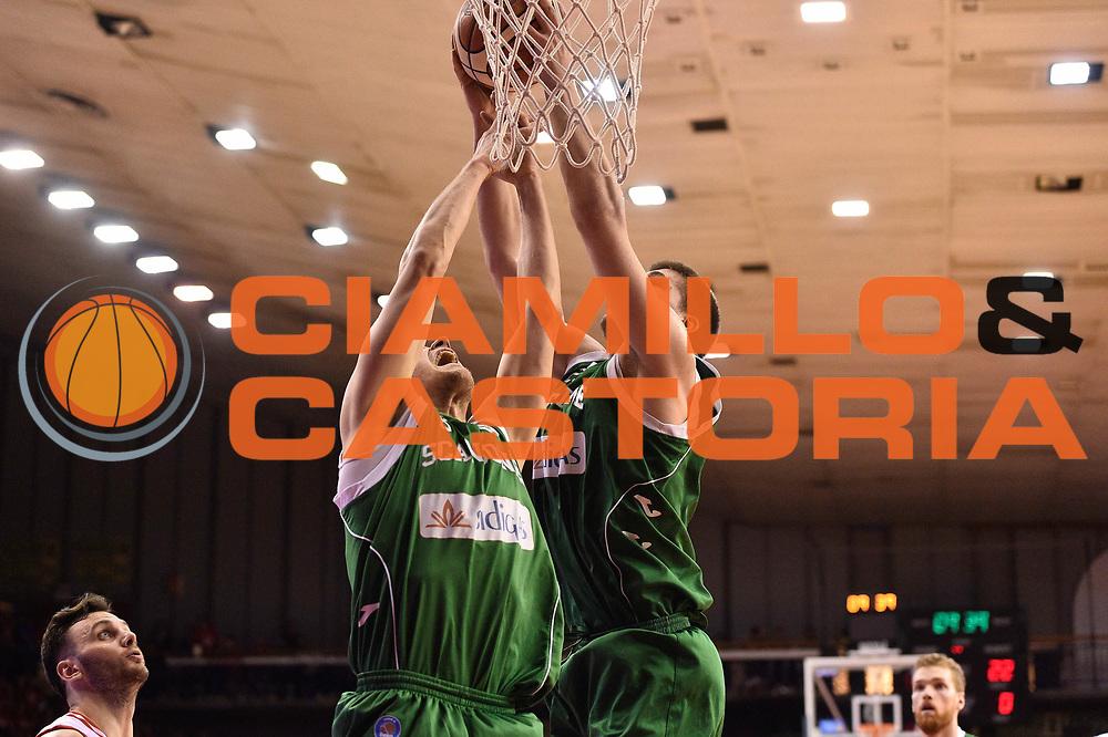 Reggio Emilia 20.05.2016<br /> Basket Serie A - Playoff Semifinali Gara 2<br /> Grissini Bon Reggio Emilia - Sidigas Avellino<br /> <br /> Nella foto: Ivan Buva