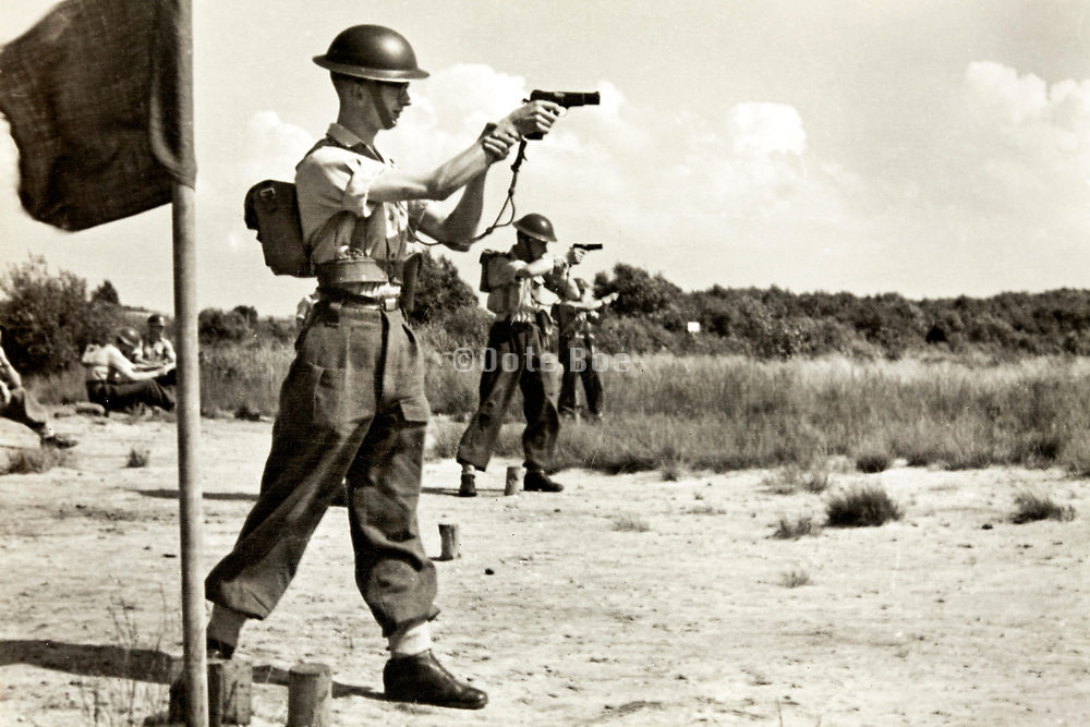 army shooting range Havelte 1950s Netherlands
