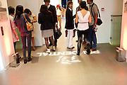 SERENELLA CICLITIRA, Indonesian Eye Contemporary Art Exhibition Reception, Saatchi Gallery. London. 9 September 2011. <br /> <br />  , -DO NOT ARCHIVE-© Copyright Photograph by Dafydd Jones. 248 Clapham Rd. London SW9 0PZ. Tel 0207 820 0771. www.dafjones.com.