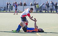 HAARLEM - Eerste ronde bekerhockey om de SILVERCUP. Saxenburg tegen HC Abcoude (0-1).  COPYRIGHT KOEN SUYK
