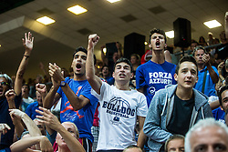 Italian fans during friendly basketball match between National teams of Slovenia and Italy at day 3 of Adecco Cup 2015, on August 23 in Koper, Slovenia. Photo by Grega Valancic / Sportida