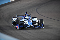 April 6, 2018 - Phoenix, AZ, U.S. - PHOENIX, AZ - APRIL 07: Driver Takuma Sato completes the race in eleventh (11) position in the Verizon IndyCar Series Desert Diamond West Valley Casino Phoenix Grand Prix on April 7, 2018, at ISM Raceway in Phoenix, AZ. (Photo by Grant Exline/Icon Sportswire) (Credit Image: © Grant Exline/Icon SMI via ZUMA Press)