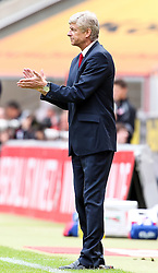 23.07.2011,  Rhein Energie Stadion, Koeln, GER, FSP, 1. FC Koeln vs Arsenal London, im Bild:  Arsene Wenger (Trainer London) zufrieden...// during the friendly match, 1. FC Koeln vs Arsenal London on 2011/07/23, Rhein-Energie Stadion, Köln, Germany. EXPA Pictures © 2011, PhotoCredit: EXPA/ nph/  Mueller *** Local Caption ***       ****** out of GER / CRO  / BEL ******