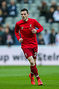 James Milner (#7) of Liverpool ahead of the Premier League match between Newcastle United and Liverpool at St. James's Park, Newcastle, England on 4 May 2019.