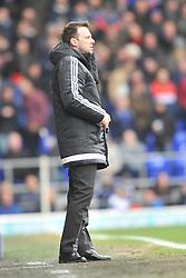 JONAS KNUDSEN IPSWICH TOWN, DOUGIE FREEDMAN MANAGER NOTTINGHAM FOREST, Ipswich Town v Nottingham Forest, Sky Bet Championship, Portman Road Stadium, Saturday 5th March 2016.I
