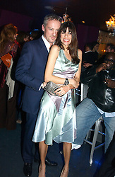ANTON BILTON and his wife LISA BARBUSCIA at a party hosted by Panerai and the Baglioni Hotel, 60 Hyde Park Gate, London on 6th December 2004.<br /><br />NON EXCLUSIVE - WORLD RIGHTS