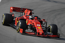 March 1, 2019 - Barcelona, Catalonia, Spain - March 1st, 2019 - Circuit de Barcelona-Catalunya, Montmelo, Spain - Formula One preseason 2019; Sebastian Vettel of Scuderia Ferrari during the afternoon session of the day 8. (Credit Image: © Marc Dominguez/ZUMA Wire)