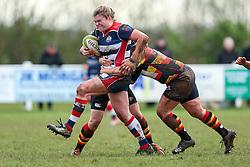 Sarah Bern of Bristol Ladies - Rogan Thomson/JMP - 15/01/2017 - RUGBY UNION - Cleve RFC - Bristol, England - Bristol Ladies Rugby v Richmond WRFC - RFU Women's Premiership.