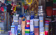 Display of shop hardware items, Fethiye, Turkey