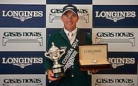 El irlandés Conor Swail, ganador del trofeo Longines