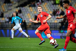 Oliver Skipp of England during friendly Football match between U21 national teams of Slovenia and England, on October 11, 2019 in Ljudski Vrt, Maribor, Slovenia. Photo by Blaž Weindorfer / Sportida