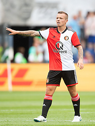 Jordy Clasie of Feyenoord during the Pre-season Friendly match between Feyenoord Rotterdam and Levante UD at the Kuip on July 29, 2018 in Rotterdam, The Netherlands