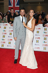 Peter Andre, Emily MacDonagh, Pride of Britain Awards, Grosvenor House Hotel, London UK. 28 September, Photo by Richard Goldschmidt /LNP © London News Pictures